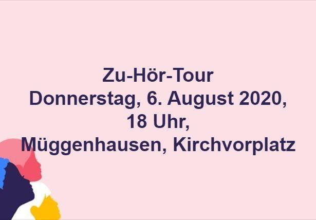 Zu-Hör-Tour Anne Horst, Bürgermeisterin von Weilerswist